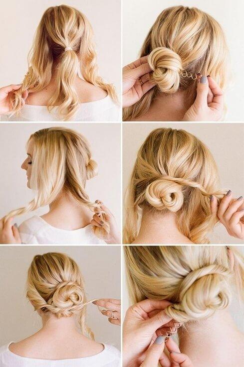 Вечірні зачіски на рідке волосся