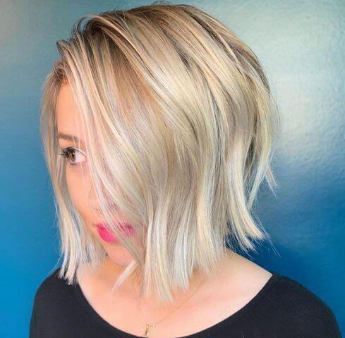 Стрижка на коротке волосся