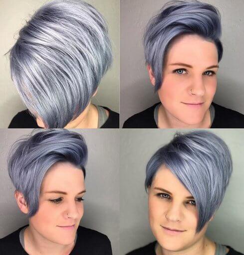 Укладки на коротке волосся