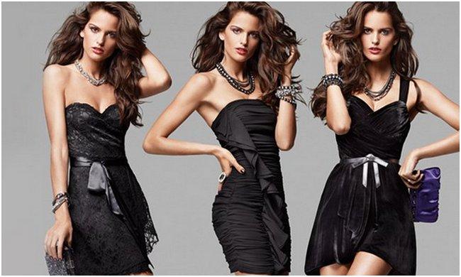 З чим носити чорне плаття  0c088b5b34fa3