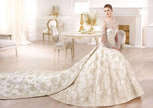 Самые красивые и дорогие свадебные платья фото